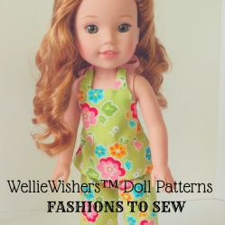 WellieWishers Doll Patterns by Oh Sew Kat