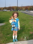 www.ohsewkat.com PDF sewing patterns for American Girl sized dolls irish dance dress