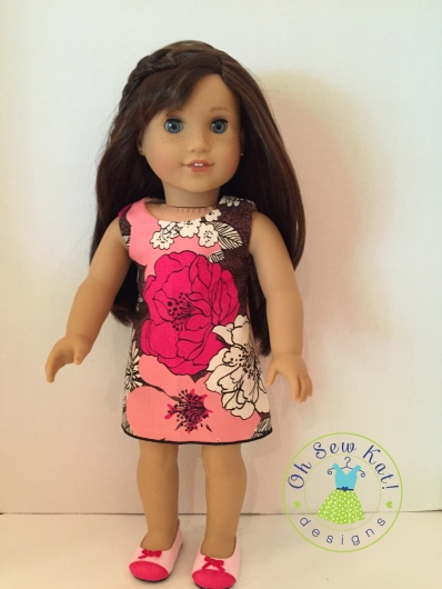 vera bradley easy to sew doll dress
