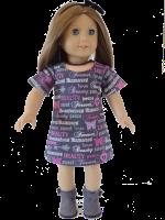 easy doll dress oh sew kat sunshine dress