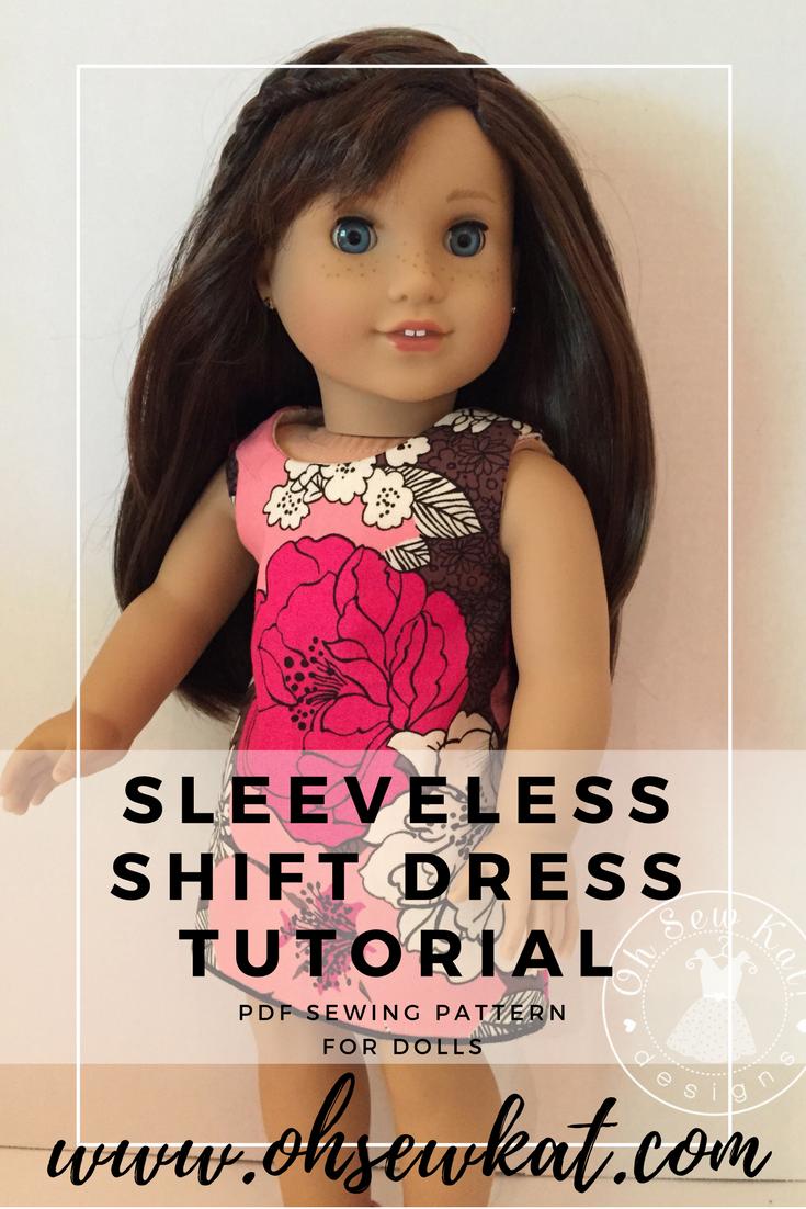 Sleeveless dress from Sunshine Dress Tutorial by Oh Sew kat!
