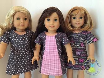 OSK Sunshine Dress 3 views