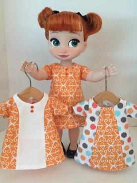 pdf easy to sew doll dress animators