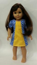 Amy Violet's on Oh Sew Kat Sunshine Dress