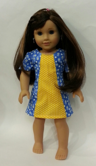 Amy Violet's on Oh Sew Kat Sunshine Dress