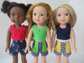 Oh Sew Kat Sandbox Shorts sewing pattern 088