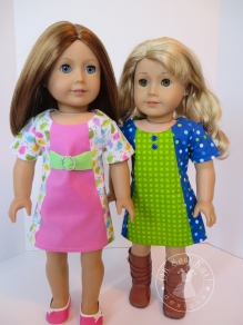 doll sewing pattern easy dress by ohsewkat sunshine dress