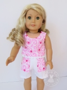 Pink Popsicle Top and Sandbox Shorts Sewing Pattern