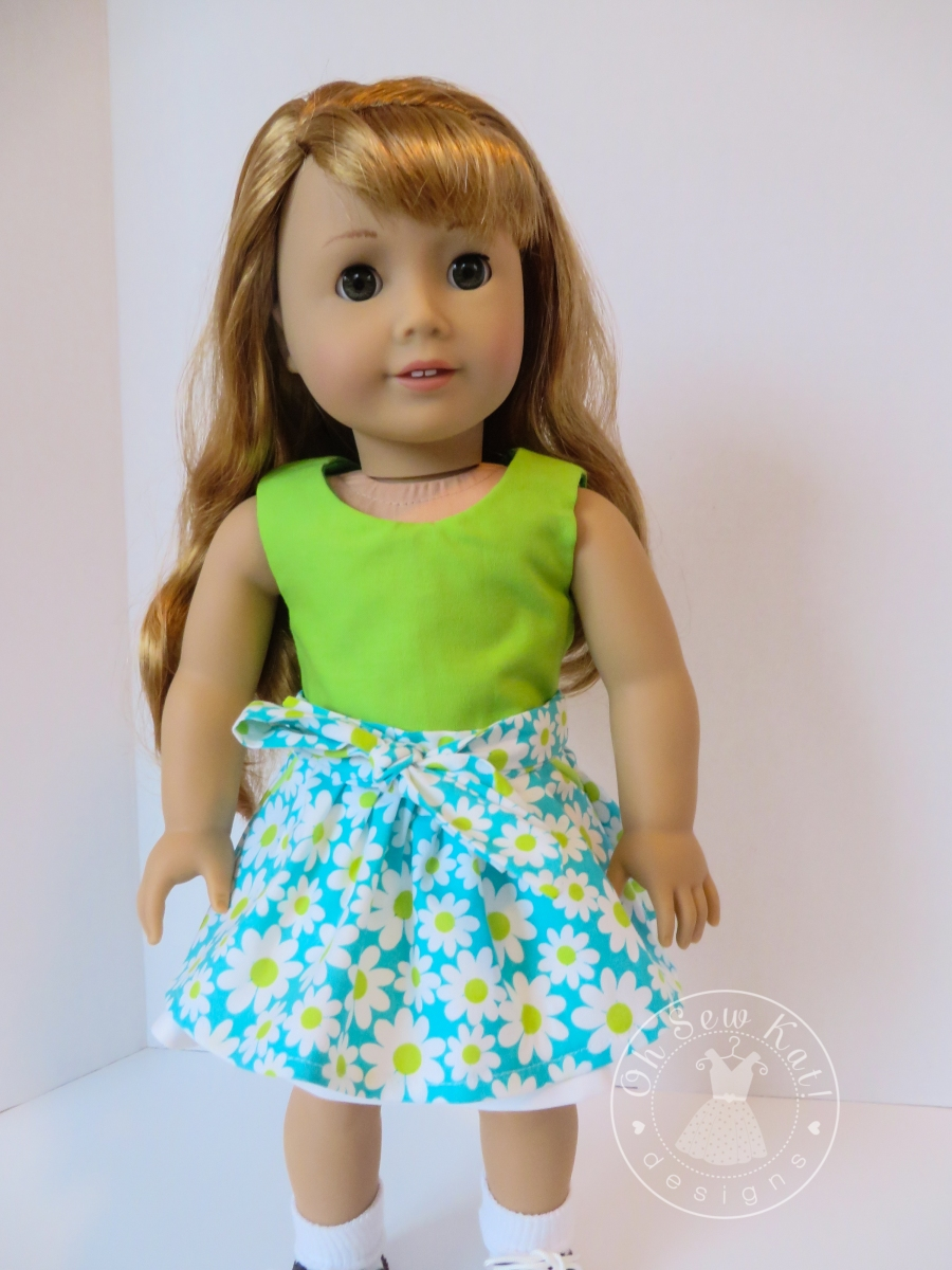 Popsicle Top by Oh Sew Kat pdf doll sewing pattern