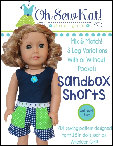 OSK Sandbox Shorts Cover AG