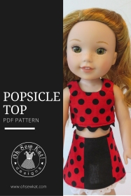Popsicle Top by oh sew kat welliewisher patterns