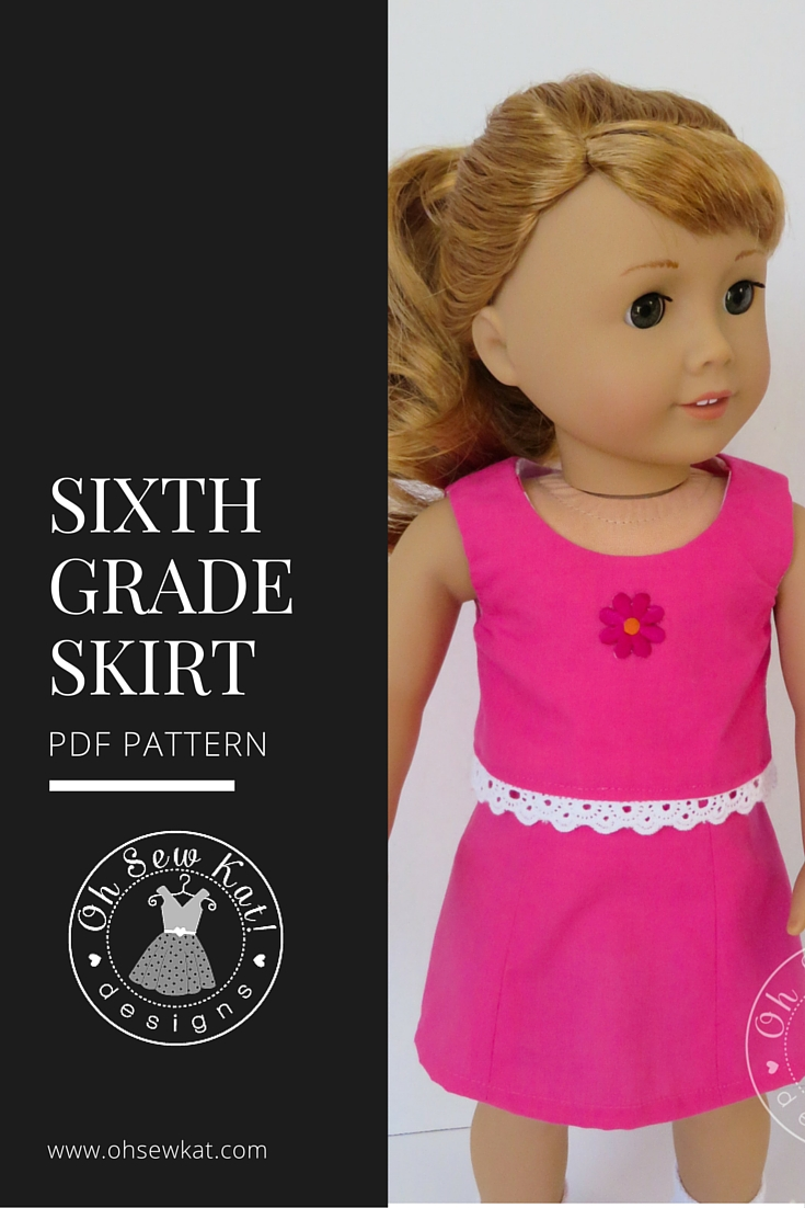 Welliewishers doll clothes sewing pattern Oh Sew Kat!