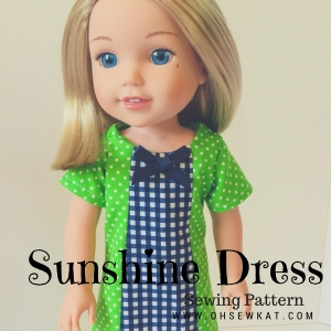 sunshine dress wellie wishers american girl