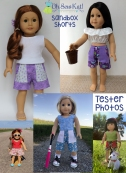 Oh Sew Kat sewing patterns wellie wishers american girl animators wellie wishers