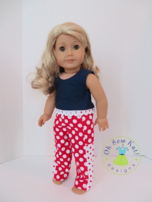 Sewing patterns for american girl dolls by Oh Sew Kat