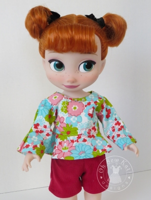 OhSewKat School Bell Blouse for Animators