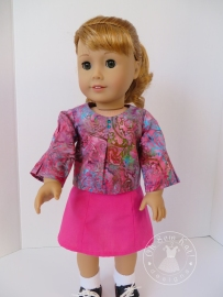 School Bell Blouse and Sixth Grade Skirt by Oh Sew Kat!