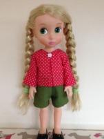 OSK SchoolBellBlouse red Rapunzel