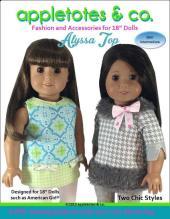 Alyssa top pattern sewn by ohsewkat.com