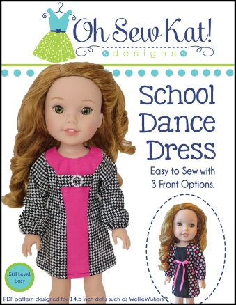 Sewing patterns for dolls Oh Sew Kat WellieWishers