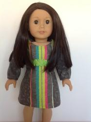 Oh Sew Kat! School Dance Dress PDF doll dress pattern