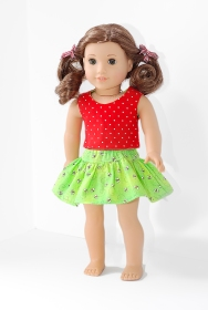 18onMain test Four Season Skirt for 18 inch doll 1