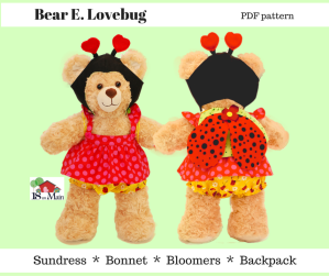 Oh Sew Kat pdf patterns Build A Bear patterns by 18onMain