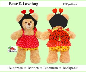 Oh Sew Kat pdf patterns Build A Bear patterns by 18onMain