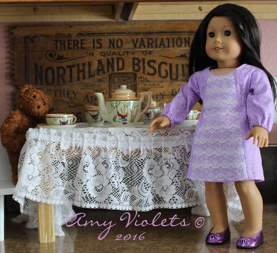 school dance doll dress by oh sew kat