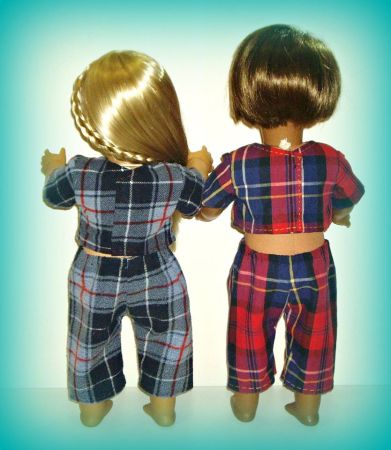 April Moon doll pajama pattern by ohsewkat