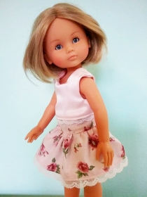 Four Season skirt and Popsicle Top sewing patterns for les cheries from Oh Sew kat