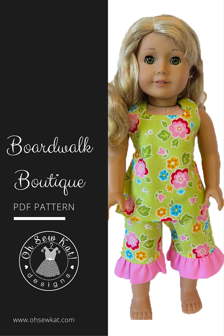 Boardwalk boutique by ohsewkat pin lea clark ag oh sew kat doll clothes boardwalk boutique sewing pattern by oh sew kat jeuxipadfo Image collections