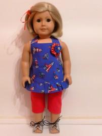 Boardwalk Boutique pattern by Oh Sew Kat sewn by Jenny Swan