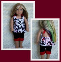 Boardwalk Boutique pattern by Oh Sew Kat sewn by Koala T