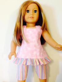 Doll clothes boardwalk boutique sewing pattern by oh sew kat