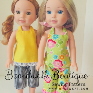 BoardwalkBoutique welliewishers doll clothes oh sew kat