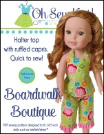 wellie wishers doll clothes sewing pattern by oh sew kat