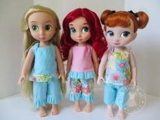 Boardwalk Boutique sewing pattern Animator Dolls by Oh Sew Kat!