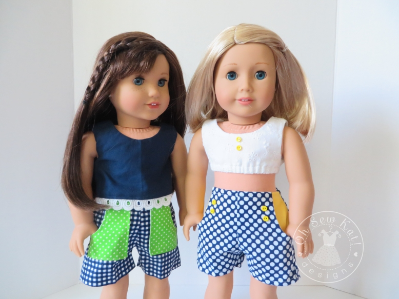 American Girl doll clothes sewing patterns by Oh Sew Kat!
