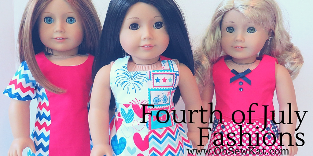 Doll clothes patterns at oh sew kat