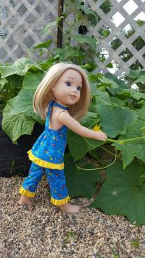 Sewing patterns for wellie wishers dolls by american girl