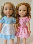Sewing patterns for animators welliewishers 18 inch doll by oh sew kat