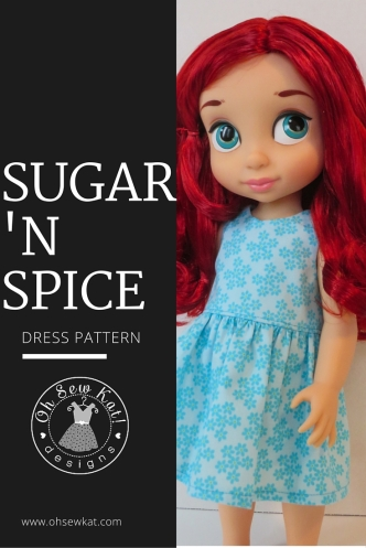 Animators doll clothes patterns dress up costumes by oh sew kat