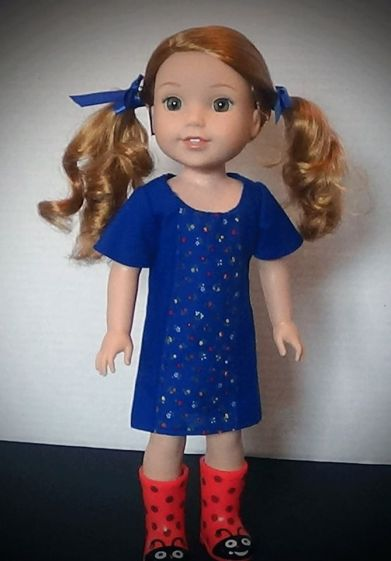 sewing patterns doll clothes for wellie wishers by oh sew kat