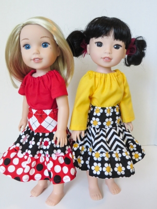 welliewishers doll clothes sewing pattern by oh sew kat