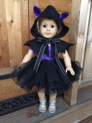 Sugar n Spice Sewing Pattern for Doll costumes by OhSewKat. #halloween #costumes #dollpattern
