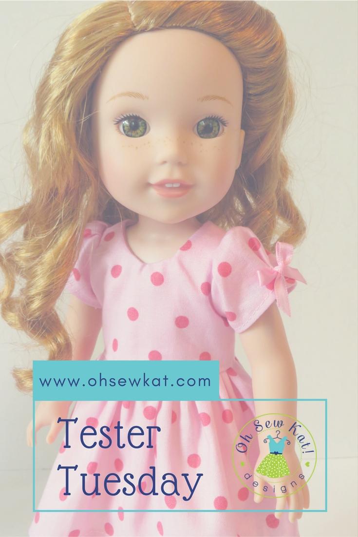 Doll dress pattern for welliewishers dolls ohsewkat