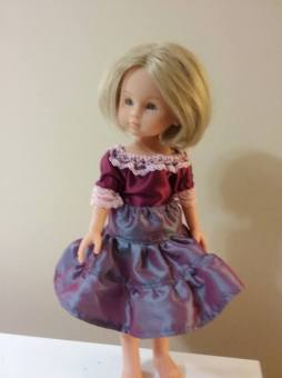 Playtime Peasant Top Playtime Twirl Skirt doll clothes by OH Sew Kat