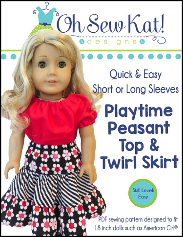 Sewing patterns for dolls by oh sew kat 18 inch welliewishers