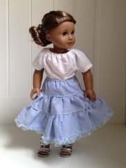 Doll Clothes sewing patterns by Oh Sew Kat! 18 inch doll and wellie wishers